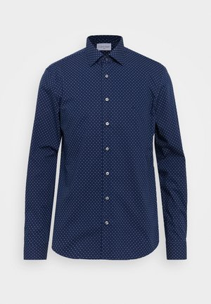 EASY CARE FITTED SHIRT - Skjorta - blue