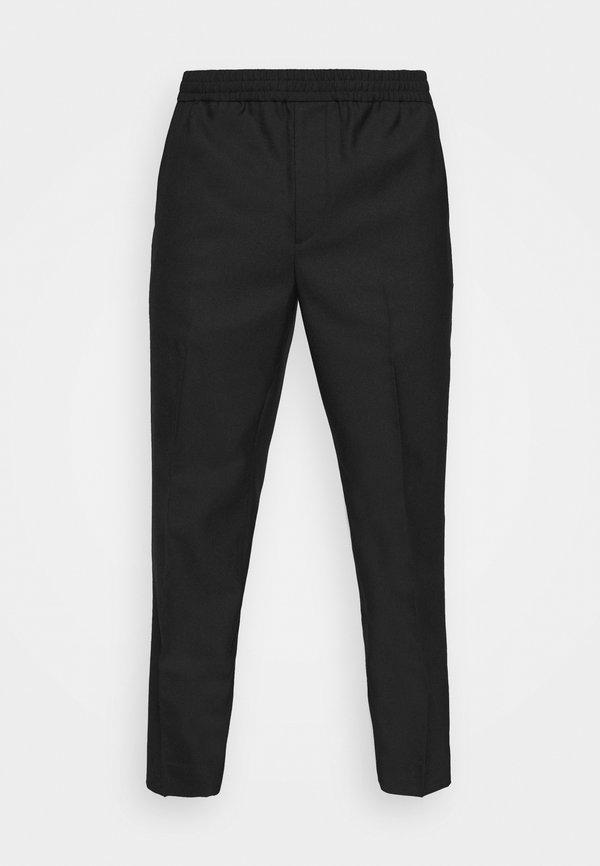 ARKET ETTI HOPSACK DRAWSTRING - Spodnie materiałowe - black/czarny Odzież Męska OKUJ