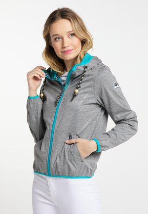 Outdoor jacket - grey melange