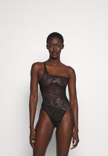KATHARINE BODYSUIT - Body - black/silver-coloured