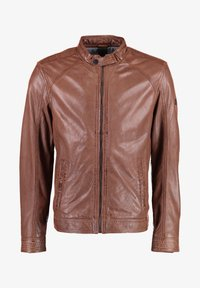 DNR Jackets - Leather jacket - cognac - 0