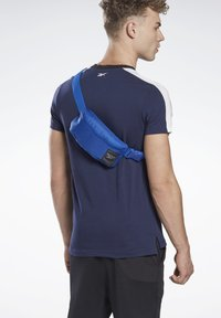 Reebok - WORKOUT READY WAIST BAG - Bum bag - blue - 0