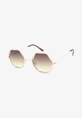 JOLIE - Sunglasses - pale gold/yellow