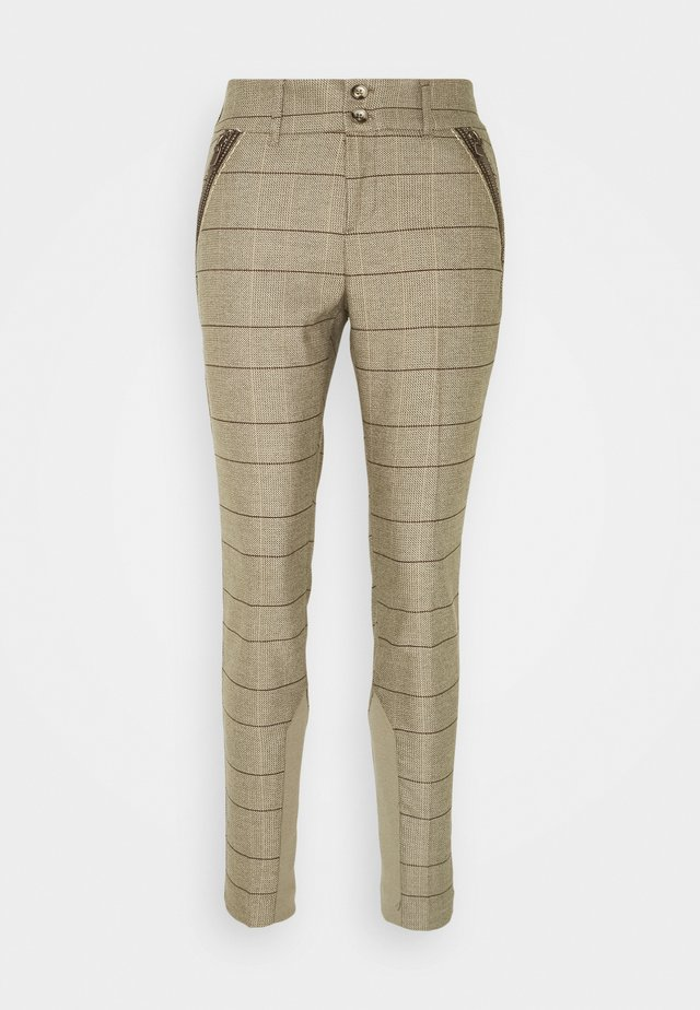 MILTON JOSIE PANT - Broek - chocolate chip