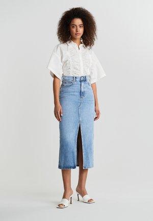 ORIGINAL  - Spódnica trapezowa - lt blue