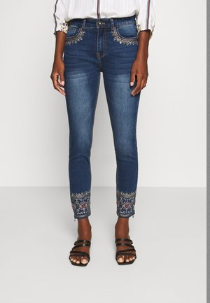 ROUS - Jean slim - blue denim