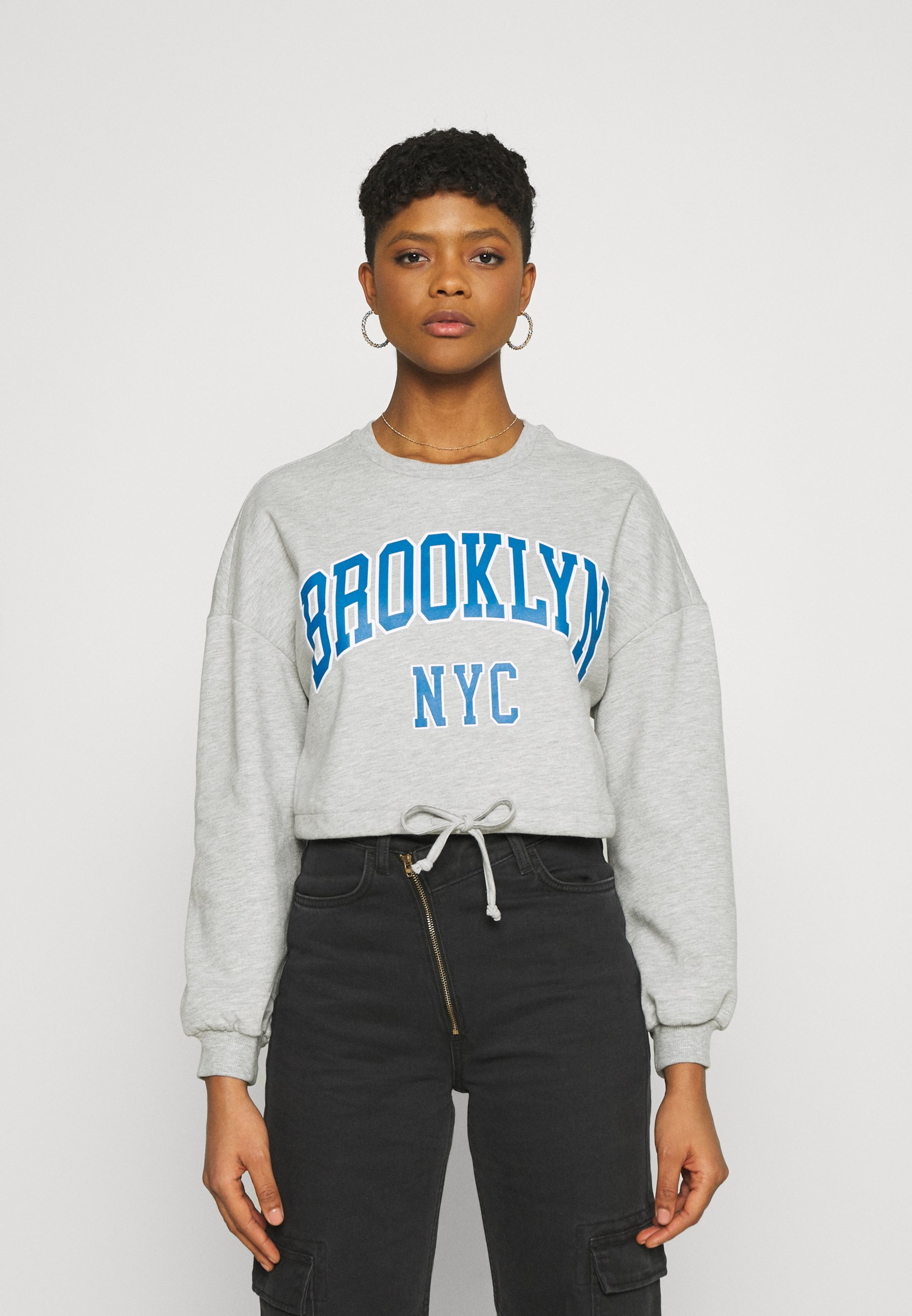 Women ONLDREAMER CROP STRING  - Sweatshirt