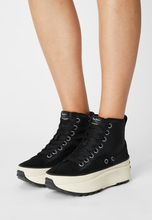 WOKING CITY - High-top trainers - black
