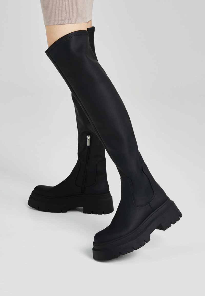 PULL&BEAR - Platform boots - black