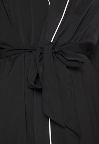 Anna Field - AMANDA DRESSING GOWN  - Badjas - black - 6