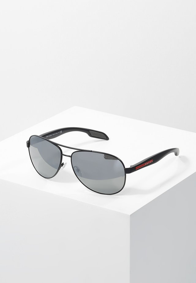 LIFESTYLE - Sunglasses - black/grey/silver