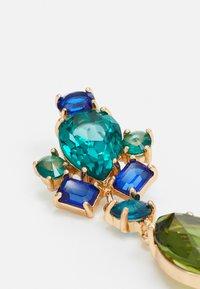 Pieces - PCMORGAN EARRINGS  - Orecchini - gold colour/green/blue - 2