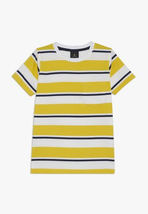 ODWIN - T-shirt imprimé - sulphur