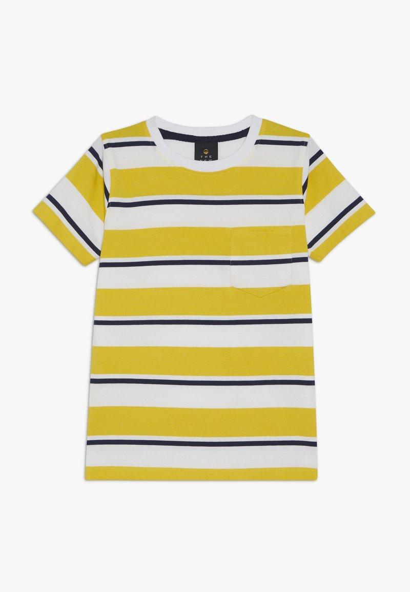 The New - ODWIN - Print T-shirt - sulphur
