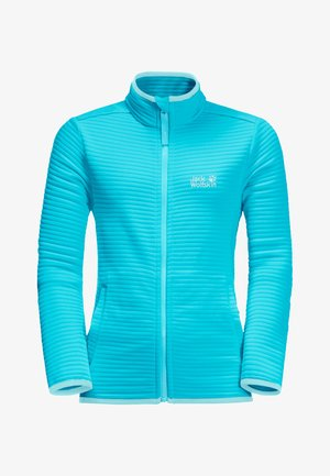 MODESTO - Fleece jacket - blue capri