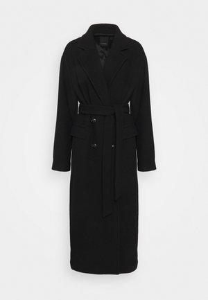 GIACOMO CAPPOTTO PANNO - Classic coat - black