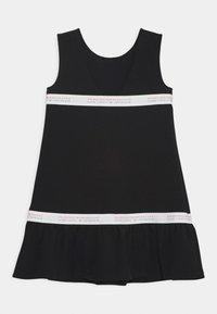 Emporio Armani - Jersey dress - black - 1