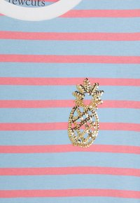 J.CREW - STRIPED CRITTER TEE - Print T-shirt - blue - 2