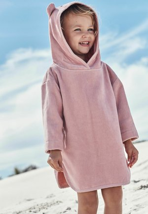 TOWELLING - Jersey dress - pink