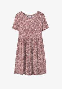 PULL&BEAR - Denní šaty - red - 4