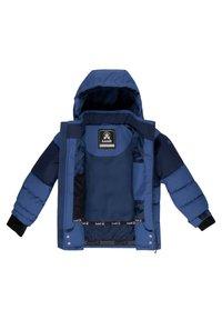 Kamik - LUNAR - Winter jacket - blue eclipse - 3