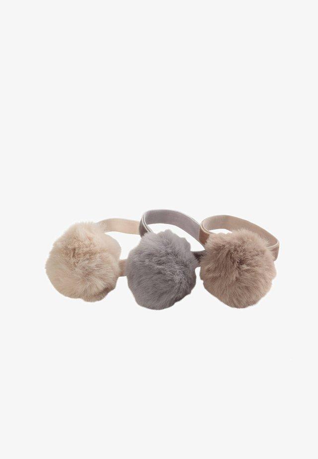 3 PACK - Accessori capelli - brown