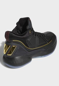 adidas Performance - D ROSE 10 SHOES - Basketball shoes - black - 4