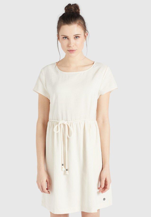 ASBA - Korte jurk - white