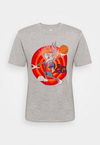 Outerstuff - NBA BUGS BUNNY SPACE JAM 2 TUNE SQUAD NAME & NUMBER TEE - Club wear - grey - 4