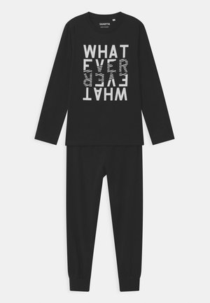 TEENS LONG  - Pyjama set - super black
