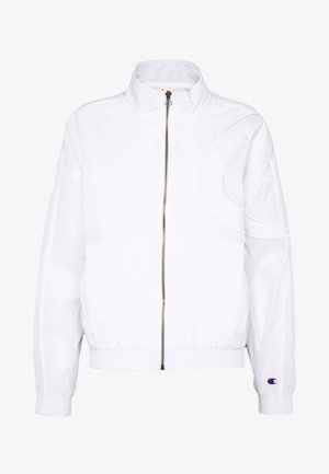FULL ZIP TOP - Summer jacket - white