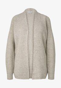 TOM TAILOR - Cardigan - light warm beige melange - 4