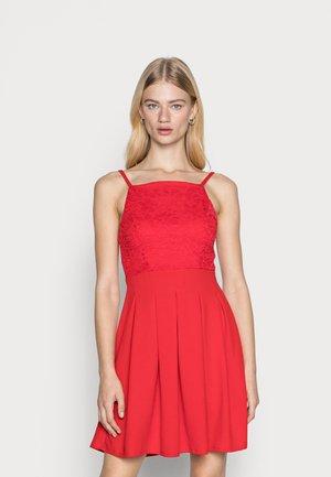 JIMMY SKATER DRESS - Koktejlové šaty/ šaty na párty - red
