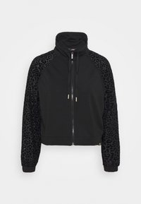LEOPARD LOOSE JACKET - Training jacket - black