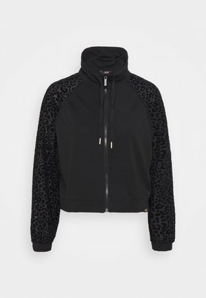 LEOPARD LOOSE JACKET - Training jacket - black