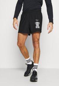 Björn Borg - NIGHT SHORTS - Sports shorts - black beauty - 0