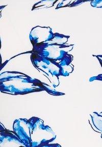 Lauren Ralph Lauren Petite - FELIA - Vestito estivo - cream/blue/multi - 3