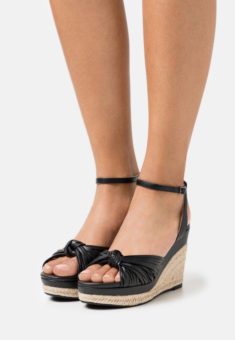 Divine Factory - Platform sandals - noir