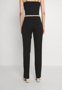 Vero Moda - VMEVERLY STRAIGHT PANT - Trousers - black - 3