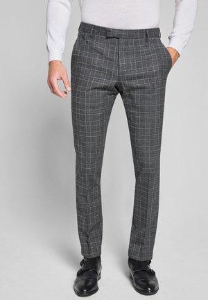 GUN-ANZUGHOSE - Suit trousers - grau