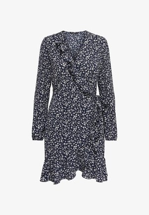 ONLCARLY WRAP SHORT DRESS - Robe d'été - night sky