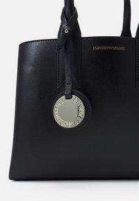 Emporio Armani - FRIDATOTE BAG - Handbag - nero/tabacco - 6