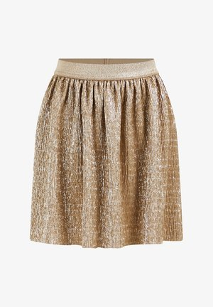 GLITTERGAREN - A-line skirt - gold