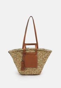 SHOPPER EVA - Tote bag - camel
