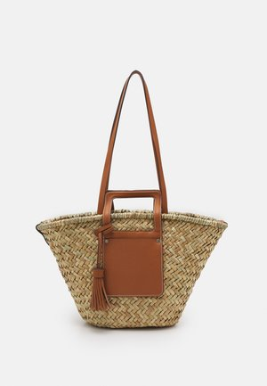 SHOPPER EVA - Shopping bag - camel