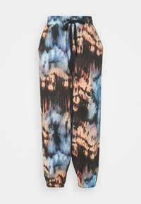 Missguided - TIE DYE OVERSIZEDBALLOON JOGGERS - Tracksuit bottoms - multi - 0