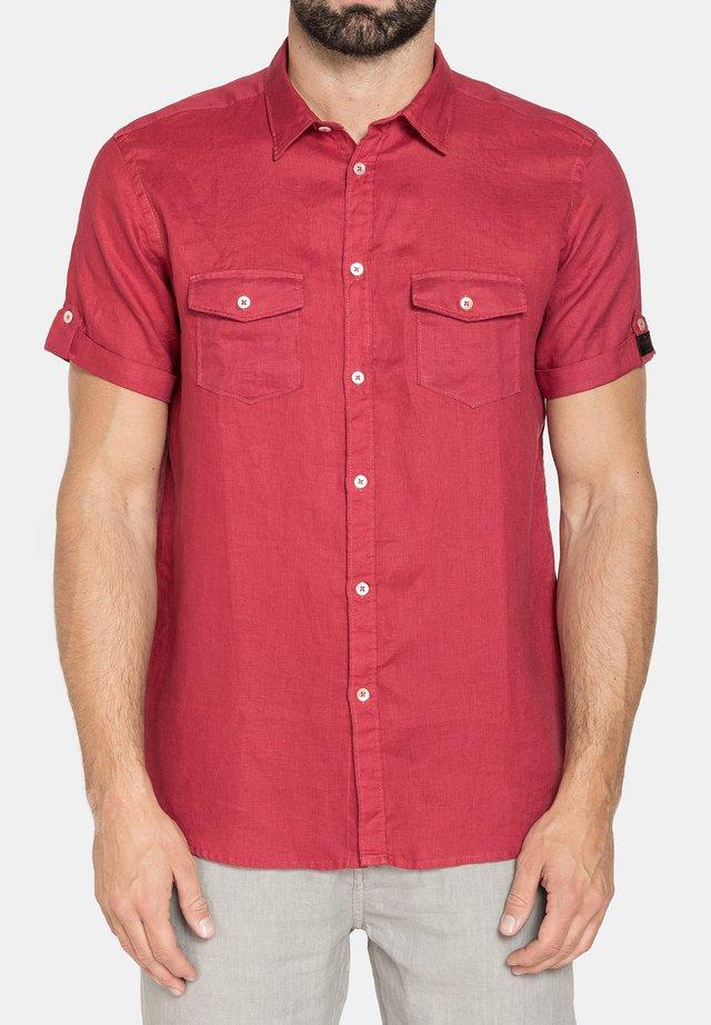 Camicia - rosso rubino