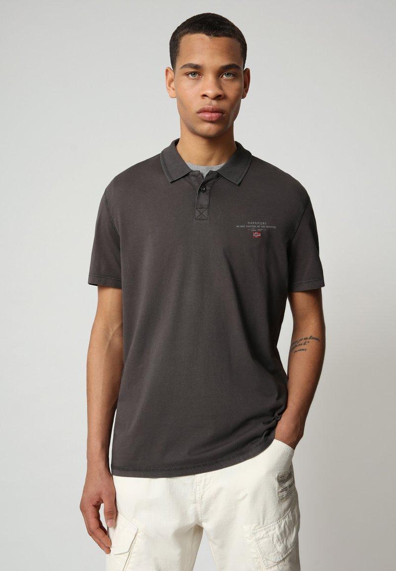 Napapijri - ELLI - Poloshirt - dark grey solid