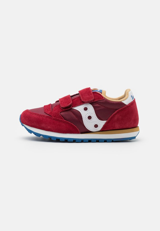 JAZZ DOUBLE KIDS UNISEX - Zapatillas - red/blue/tan