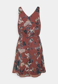 Vero Moda - VMWONDA NEW SINGLET SHORT DRESS - Day dress - rose/brown - 3